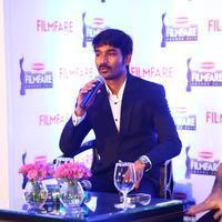 Dhanush - Dhanush at 62nd Britannia Filmfare Awards 2014 Press Meet Photos | Picture 1080049