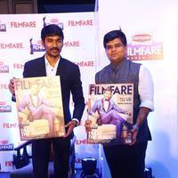 Dhanush at 62nd Britannia Filmfare Awards 2014 Press Meet Photos