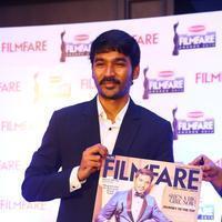 Dhanush - Dhanush at 62nd Britannia Filmfare Awards 2014 Press Meet Photos | Picture 1080059