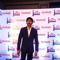 Dhanush - Dhanush at 62nd Britannia Filmfare Awards 2014 Press Meet Photos | Picture 1080061
