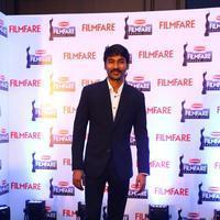 Dhanush - Dhanush at 62nd Britannia Filmfare Awards 2014 Press Meet Photos | Picture 1080062