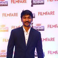 Dhanush - Dhanush at 62nd Britannia Filmfare Awards 2014 Press Meet Photos | Picture 1080064