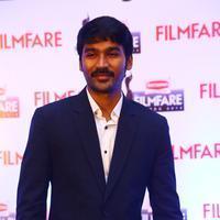 Dhanush - Dhanush at 62nd Britannia Filmfare Awards 2014 Press Meet Photos | Picture 1080066