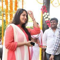 Anushka Shetty - Inji Idupazhagi Movie Pooja Stills