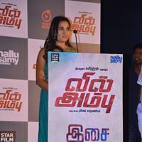 Srushti Dange - Vil Ambu Movie Audio Launch Stills