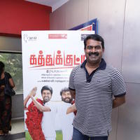 Seeman at Kathukutty Movie Preview Show Stills