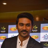 Dhanush - Dhanush at Hero Indian Super League Press Meet Stills