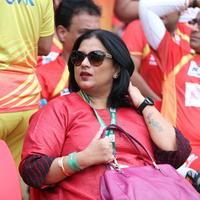Sripriya Rajkumar - CCL 6 Chennai Rhinos vs Telugu Warriors Match Photos