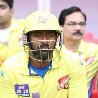 Shanthanu Bhagyaraj - CCL 6 Chennai Rhinos vs Telugu Warriors Match Photos