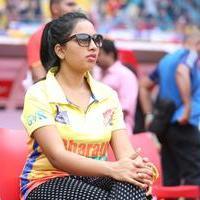 Srushti Dange - CCL 6 Chennai Rhinos vs Telugu Warriors Match Photos