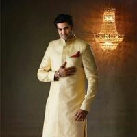 Ganesh Venkatraman - Actor Ganesh Venkatraman and Nisha Ad Shoot for Pachaiyappas Silks Stills