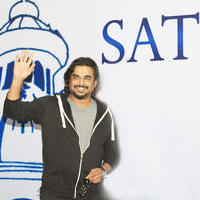 Madhavan - Sathyabama University Student Interactive Session With Iruthi Sutru Movie Team Stills