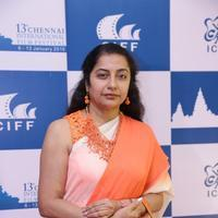 Suhasini Maniratnam - 13th Chennai International Film Festival Closing Ceremony Stills