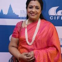 Poornima Bhagyaraj - 13th Chennai International Film Festival Closing Ceremony Stills