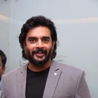 Madhavan - Celebs at Irudhi Suttru Movie Premiere Show Stills
