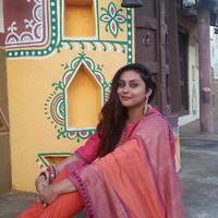 Namitha at AIADMK