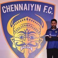 Abhishek Bachchan - Abhishek Bachchan introduces ISL Chennaiyin FC team Photos