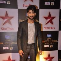 Shahid Kapoor - Celebs at Star Plus Box Office Awards