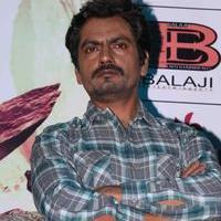 Nawazuddin Siddiqui - Manjhi Movie Press Meet Stills