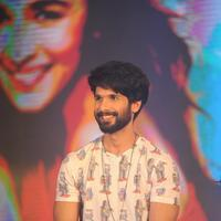 Shahid Kapoor - Alia Bhatt and Shahid Kapoor at Shandaar Film Song Launch Stills