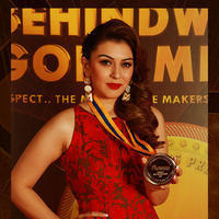 Hansika Motwani - Behindwoods Gold Medals Award Function Photos