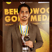 Siddharth Narayan - Behindwoods Gold Medals Award Function Photos