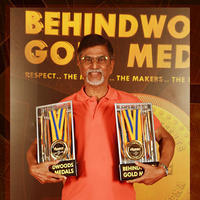 S. A. Chandrasekhar - Behindwoods Gold Medals Award Function Photos