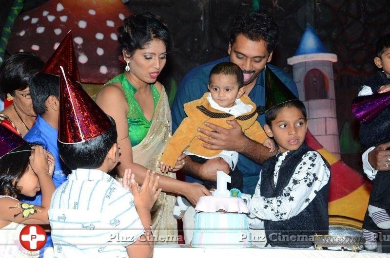 Actor ajay son 1st birthday celebration stills altavistaventures Gallery