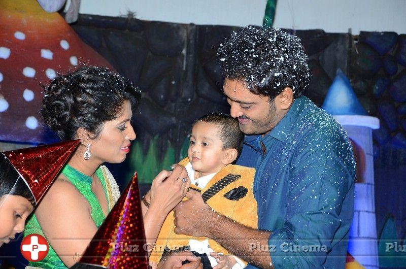 Actor ajay son 1st birthday celebration stills thecheapjerseys Choice Image