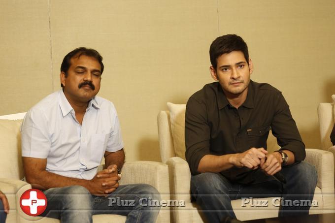 Mahesh Babu - Srimanthudu Movie Press Meet Stills   Picture 1084203