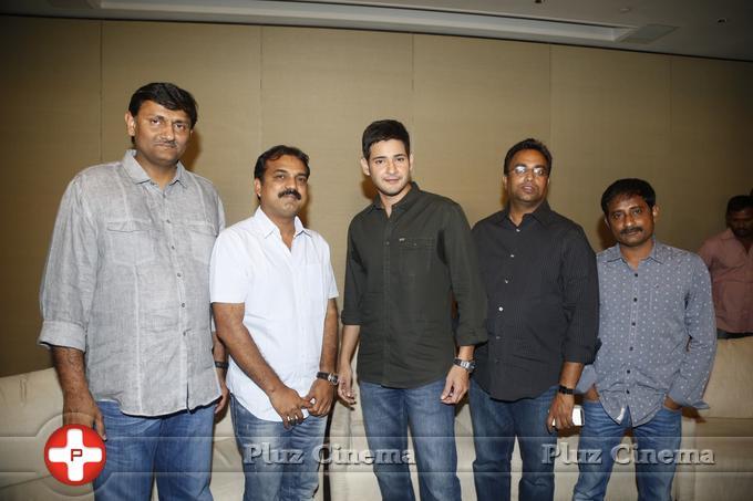 Mahesh Babu - Srimanthudu Movie Press Meet Stills | Picture 1084211