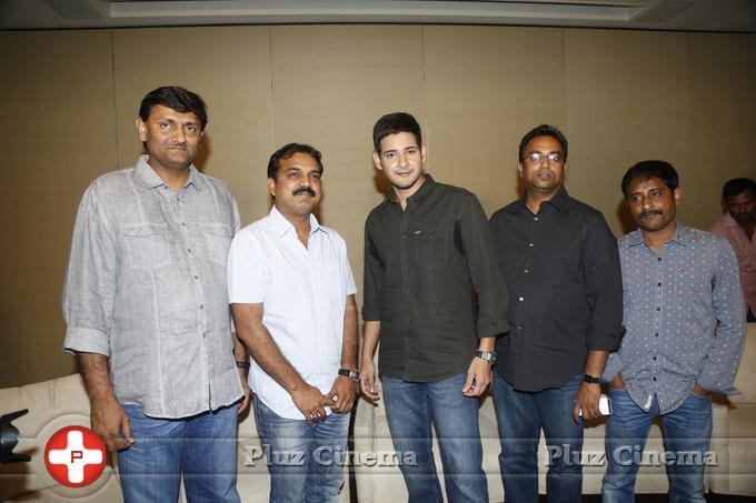 Mahesh Babu - Srimanthudu Movie Press Meet Stills   Picture 1084212