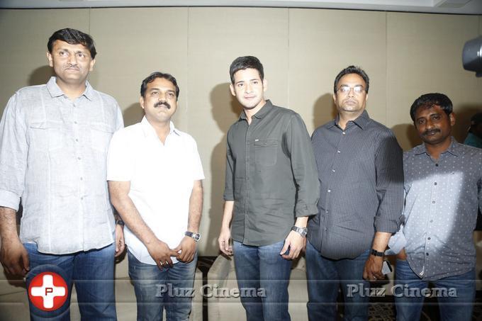 Mahesh Babu - Srimanthudu Movie Press Meet Stills | Picture 1084214