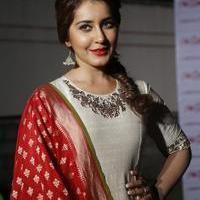 Rashi Khanna at Santosham Awards Curtain Raiser Press Meet Photos | Picture 1086499