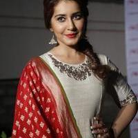 Rashi Khanna at Santosham Awards Curtain Raiser Press Meet Photos | Picture 1086500