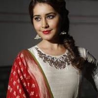 Rashi Khanna at Santosham Awards Curtain Raiser Press Meet Photos | Picture 1086501