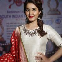 Rashi Khanna at Santosham Awards Curtain Raiser Press Meet Photos | Picture 1086502