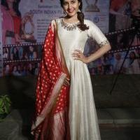 Rashi Khanna at Santosham Awards Curtain Raiser Press Meet Photos | Picture 1086504