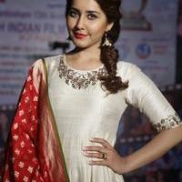 Rashi Khanna at Santosham Awards Curtain Raiser Press Meet Photos | Picture 1086510