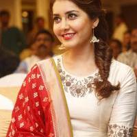 Rashi Khanna at Santosham Awards Curtain Raiser Press Meet Photos | Picture 1086513