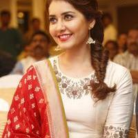 Rashi Khanna at Santosham Awards Curtain Raiser Press Meet Photos | Picture 1086514