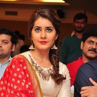 Raashi Khanna - Santosham Awards Curtain Raiser Press Meet Stills | Picture 1086327