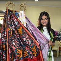 Neha Deshpande - Neha Deshpande Inaugurated Pochampally IKAT Art Mela Photos