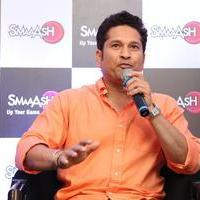 Sachin Tendulkar - Sachin Tendulkar at Smaaash Hyderabad Stills | Picture 1088366