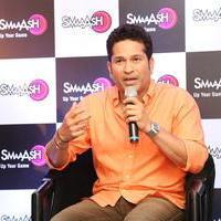 Sachin Tendulkar - Sachin Tendulkar at Smaaash Hyderabad Stills | Picture 1088372