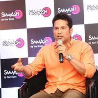Sachin Tendulkar - Sachin Tendulkar at Smaaash Hyderabad Stills | Picture 1088373