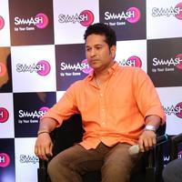 Sachin Tendulkar - Sachin Tendulkar at Smaaash Hyderabad Stills | Picture 1088375