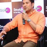 Sachin Tendulkar - Sachin Tendulkar at Smaaash Hyderabad Stills | Picture 1088378