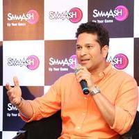 Sachin Tendulkar - Sachin Tendulkar at Smaaash Hyderabad Stills | Picture 1088380