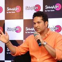 Sachin Tendulkar - Sachin Tendulkar at Smaaash Hyderabad Stills | Picture 1088382